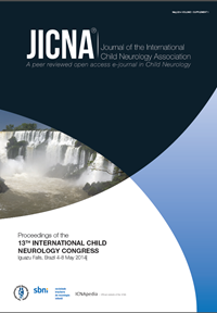 Proceedings of the 13TH INTERNATIONAL CHILD NEUROLOGY CONGRESS Iguazu Falls, Brazil 4-8 May 2014